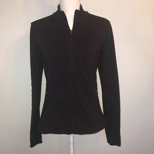 Athleta Harmony Full zip jacket with thumbholes S